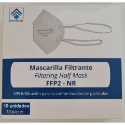 Mascarilla filtrante ffp2 nuca